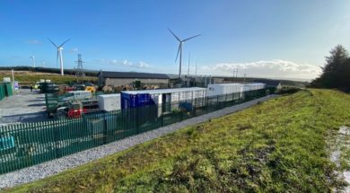 First Large Battery in Republic of Ireland Targets Super-Fast Grid Services