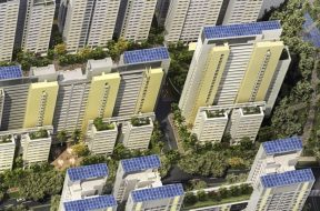 HDB Raises Solar Target For 2030 To 540MWp