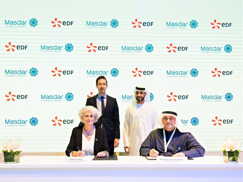 Masdar And EDF to establish energy services company