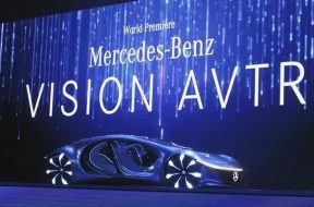Mercedes-Benz Revealed A Bizarre New Car Of The Future With No Steering Wheel Inspired By The Science Fiction Movie 'Avatar'
