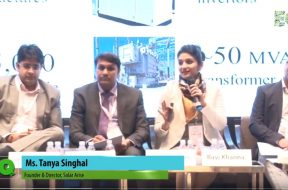 Ms. Tanya Singhal,Founder & Director, Solar Arise