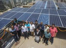 New Metering PV Power at Ravindra Natya Mandir, Prabhadevi, Mumbai.
