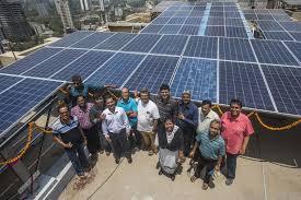 New Metering PV Power at Ravindra Natya Mandir, Prabhadevi, Mumbai.