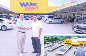 Pi Energy completes WalterMart Batangas rooftop solar