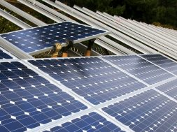 School gets solar panel, kicks off major project