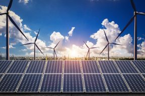 Seeking adoption of tariff for procurement of 350 MW grid connected Wind-Solar Hybrid Power capacity with green shoe option