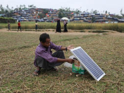 Solar power changes lives in rural Bangladesh