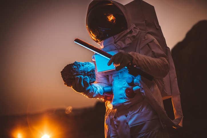 Spacewalking astronauts tackle final battery improvements
