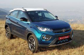 Tata Nexon EV test drive