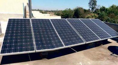 Telangana's Kamareddi Railway booking office gets solar roof