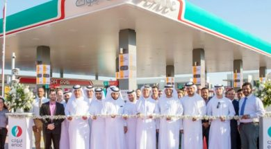 Two new solar-powered ENOC service stations open in Dubai