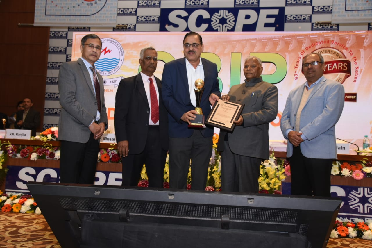 NTPC Bags CBIP 2020 Award for its Outstanding Contribution to the Power Sector