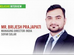 EQ in exclusive conversation with Mr. Brijesh Prajapati – MD(India) at Sofar Solar