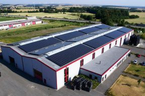 SunAlpha Energy and Flair Group team up to solarise their manufacturing plant