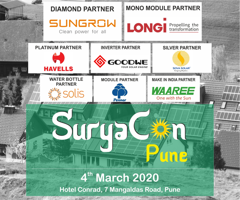 PUNE SuryaCon Conference, Mini-Expo + Maharashtra State Solar Awards