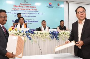 Agreement inked for two solar power projects in Assam