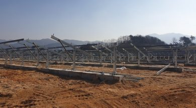 Clenergy's First PV-ezRack STMAC Solar Project Connected to the Grid