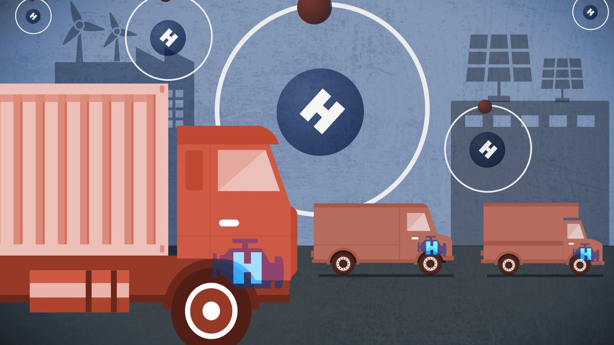 HYDROGEN ECONOMY' OFFERS PROMISING PATH TO DECARBONIZATION