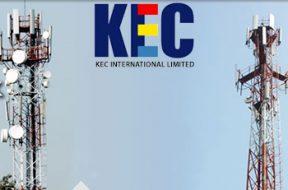 KEC International wins new orders of Rs1,047cr; stock trades flat