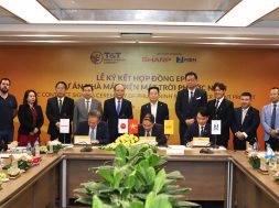 Signing the EPC contract for Phuoc Ninh Solar Power Project