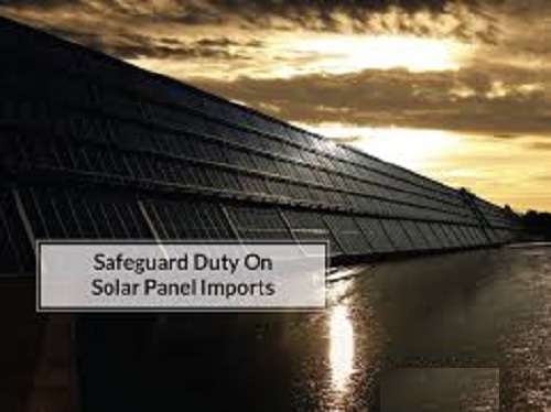 "Initiation of Review Investigation for continued imposition of Safeguard Duty on imports of ""Solar Cells whether or not assembled in modules or panels"" into India."