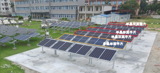 Empirical data from the China Electric Institute (CEI) verifies the power generation performance of LONGi's bifacial half-cell module at its pilot project in Qionghai, Hainan