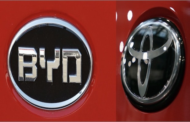 BYD, Toyota Launch BYD TOYOTA EV TECHNOLOGY Joint Venture to Conduct Battery Electric Vehicle R&D
