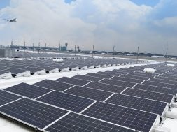 LONGi high efficiency PERC modules deployed at Hong Kong International Airport