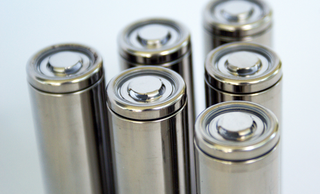New electrode material developed to increase charge capacity of lithium batteries