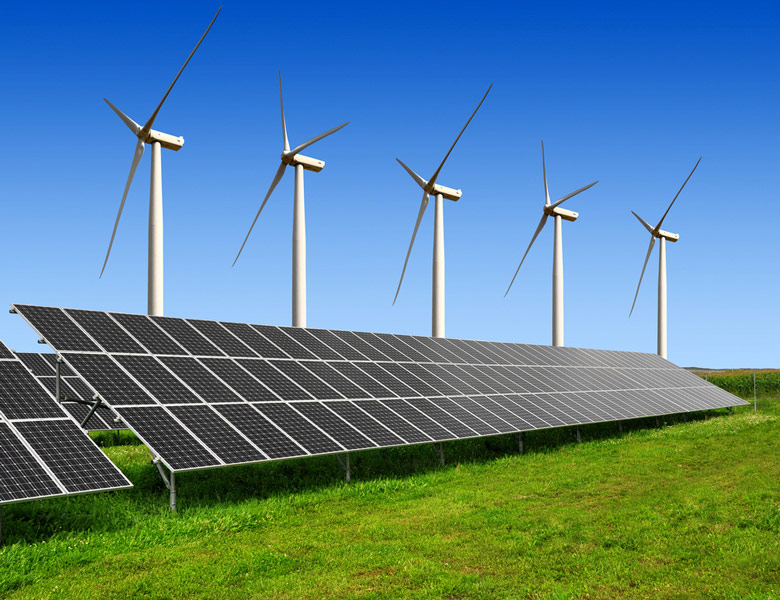 SCALE-UP OF SOLAR AND WIND PUTS EXISTING COAL, GAS AT RISK