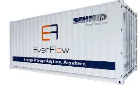 Everflow JV to manufacture Vanadium Redox Flow Batteries (VRFB) in KSA