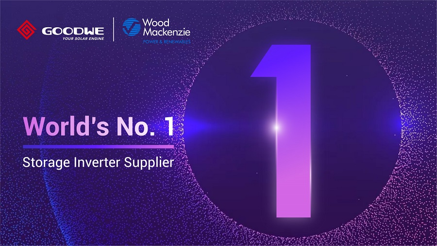 GoodWe Ranked as Global No. 1 Hybrid Inverter Suppliers by Wood Mackenzie