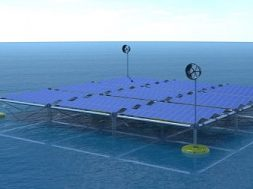 SINN Power develops the world's first floating Ocean Hybrid Platform