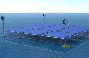 SINN Power develops the world's first floating Ocean Hybrid Platform