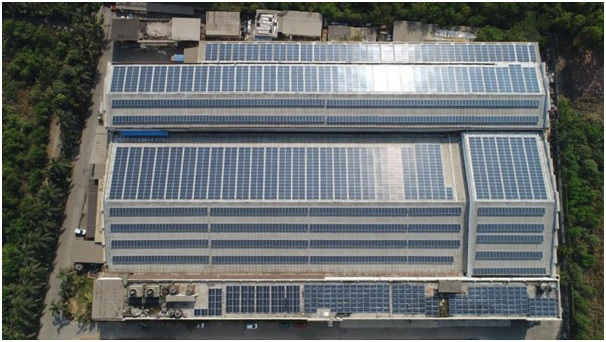 SolarSquare build's one of the country's largest Industrial Solar Rooftop Plant