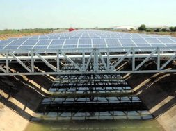 Supply of 1000 kW(2X500kW) on Grid SPV Power Plants on Canal Top at Bagjola Canal, New Town, Kolkata