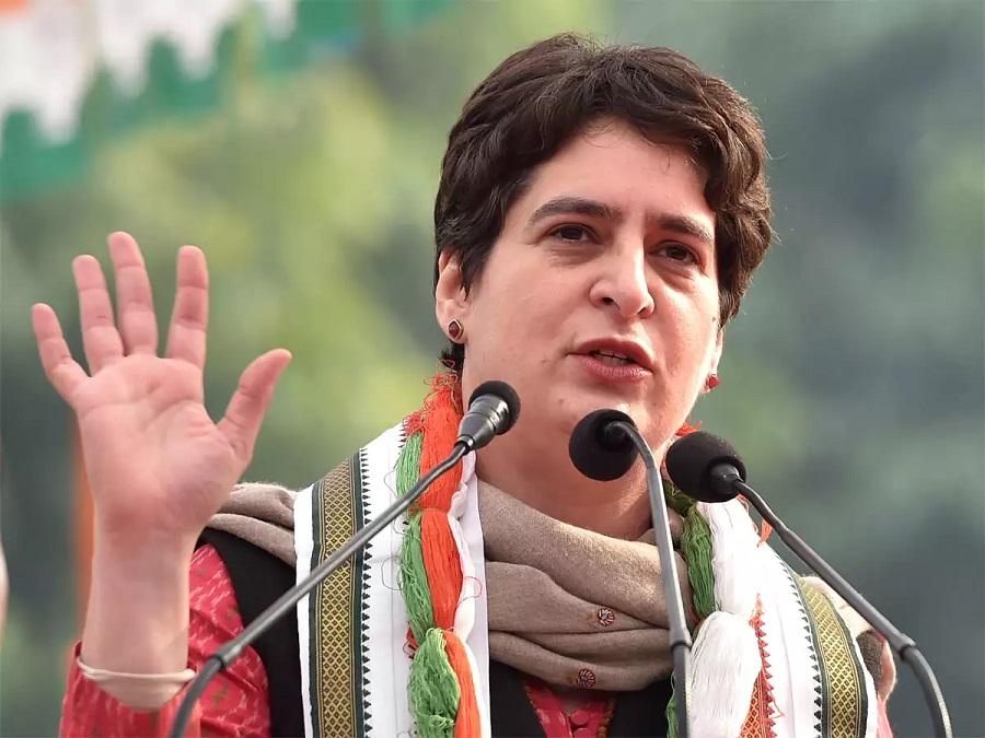 Priyanka Gandhi writes to UP CM, seeks waiver of power bills of farmers