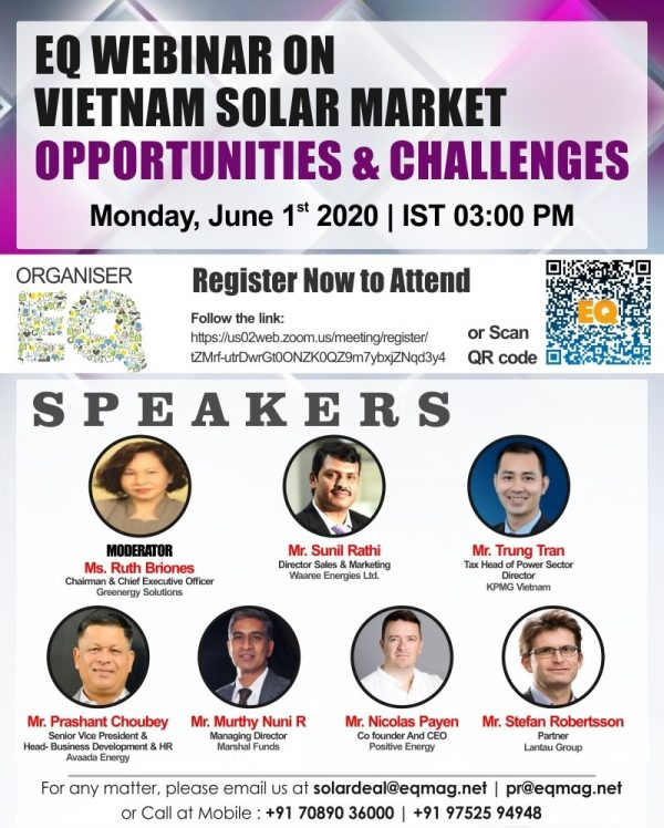 EQ Webinar on Vietnam Solar Market
