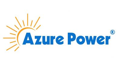 Azure-Power Logo