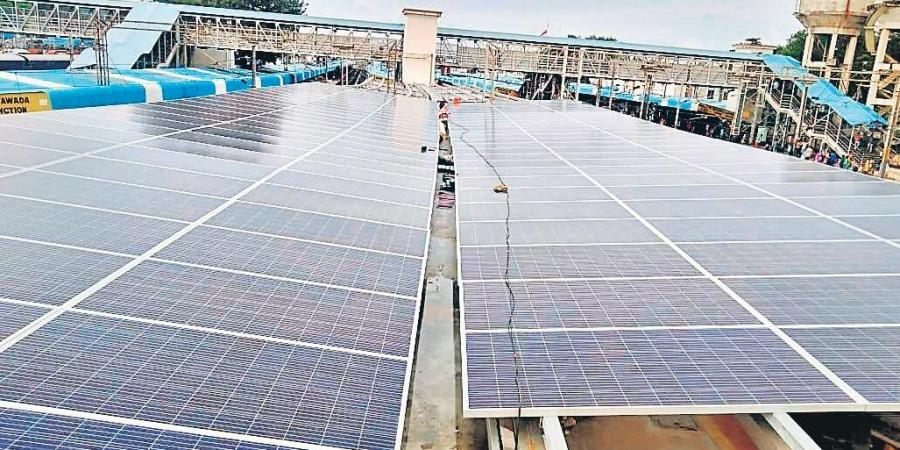 Green Energy Corporation to implement 10,000 MW solar project in Andhra Pradesh