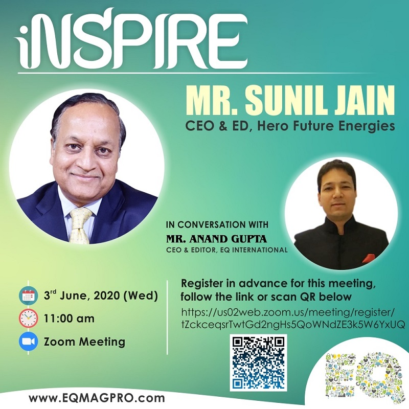Live Interview of Mr. Sunil Jain – CEO & ED at Hero Future Energies