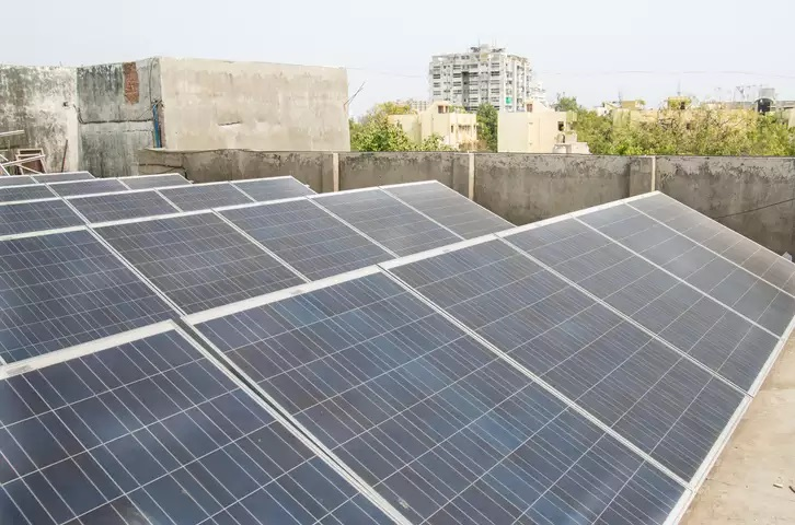 Solar power panels came crashing down after high-velocity winds hits Delhi-NCR
