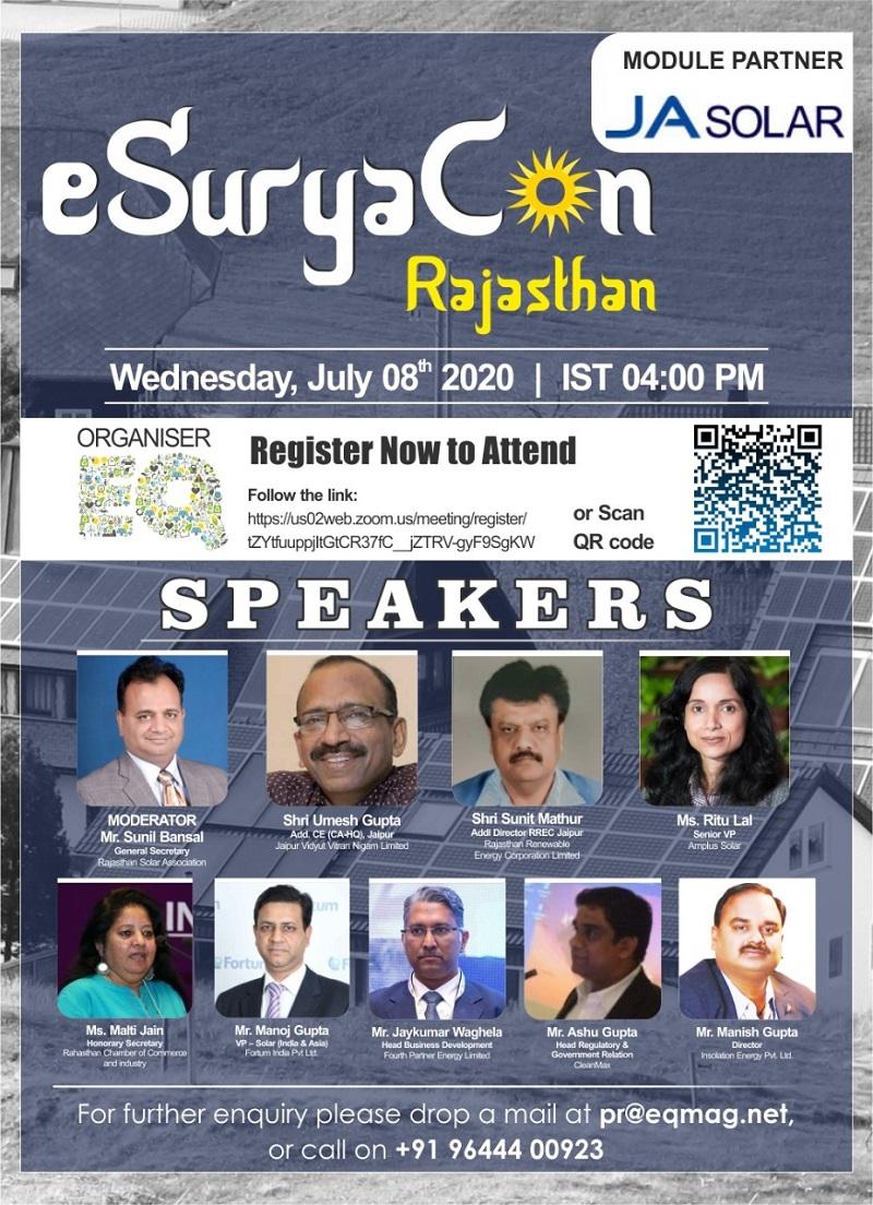 EQ Webinar – eSuryaCon Rajasthan