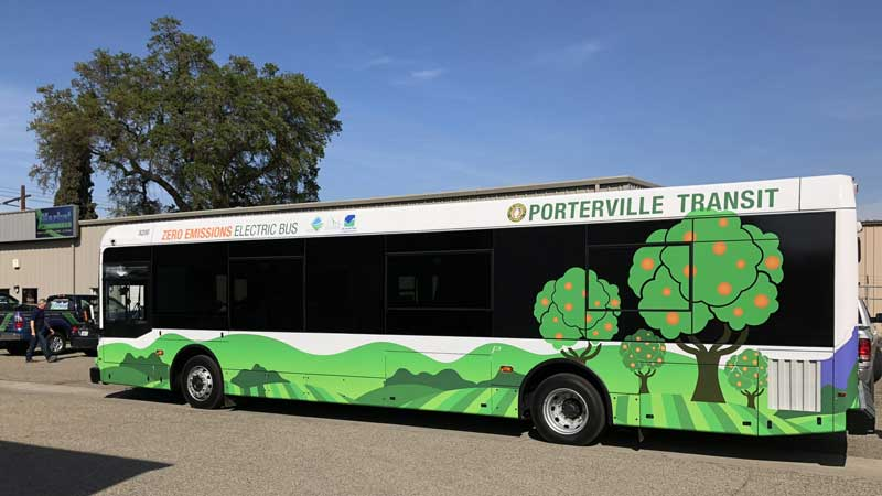 California utility to spend $A511 million on electric bus and truck charging sites