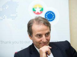 EU envoy pledges support for Myanmar economy amid COVID-19