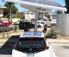 Envision's EV ARC™ Solar-Powered EV Charging Powers Envoy Shared Electric Mobility