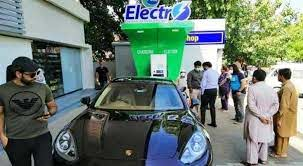 First electric vehicle charging unit installed in Islamabad