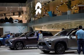 For electric-vehicle maker Nio, government tie-up has its benefits