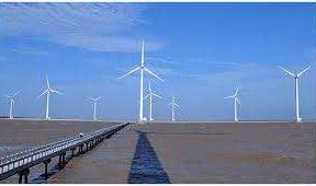 Wind energy in Vietnam, wind turbines in Bac Lieu