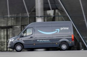 Amazon orders 1,800 electric Mercedes-Benz vans